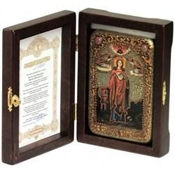 Варвара Великомученица икона ручной работы Old modern - фото 8168