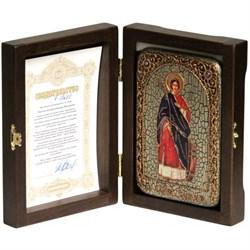 Екатерина Святая великомученица икона ручной работы Old modern - фото 8178