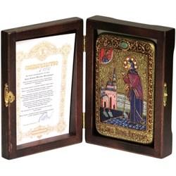 Ксения Петербургская икона ручной работы Old modern - фото 8187