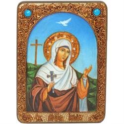 Иулия (Юлия) Карфагенская, икона ручной работы Old modern - фото 8197