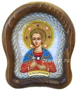 Артемий Веркольский, дивеевская икона 14х17 см - фото 8438