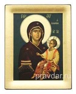 Иверская Божья Матерь, копия чудотворной иконы с Афона - фото 8469