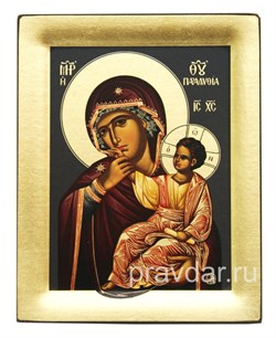 Отрада и Утешение Божья Матерь, копия чудотворной иконы с Афона - фото 8475
