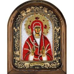 Марина святая мученица, дивеевская икона из бисера - фото 9213