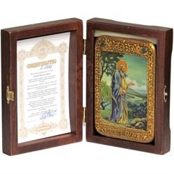 Святой праотец Адам икона ручной работы под старину - фото 9313