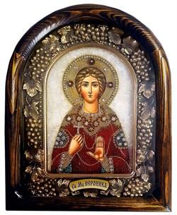 Святая мученица Вероника, дивеевская икона из бисера - фото 9425