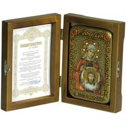 Святая Праведная Вероника Кровоточивая икона ручной работы Old modern - фото 9451