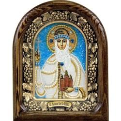 Ольга Святая Равноапостольная Княгиня, дивеевская икона из бисера - фото 9479
