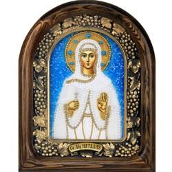 Наталия Святая мученица, дивеевская икона из бисера - фото 9510