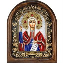 Фотиния (Светлана) Святая мученица, дивеевская икона из бисера - фото 9511