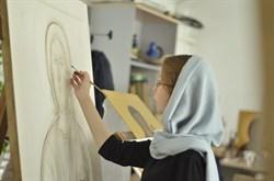 Рукописный лик (Дивеевские иконы) - фото 9629