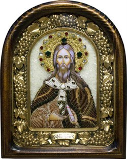 Илия (Илья) Святой пророк, дивеевская икона - фото 9688