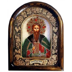 Вячеслав Святой князь Чешский, дивеевская икона - фото 9712