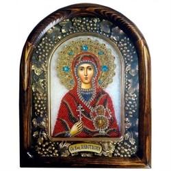 Анастасия Узорешительница, дивеевская икона из бисера - фото 9715