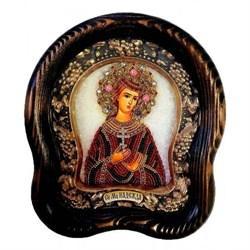 Икона Святая мученица Надежда дивеевская икона из бисера ручной работы - фото 9776