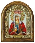 Валерия Святая Царица , дивеевская икона из бисера