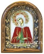 Мария Вифинская Преподобная, дивеевская икона из бисера