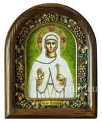 Наталия Святая мученица, дивеевская икона из бисера