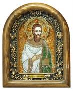 Тимофей Святой праведный, дивеевская икона из бисера