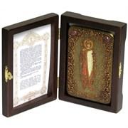 Борис Святой благоверный князь икона ручной работы под старину