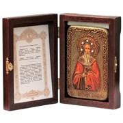 Григорий Богослов Святитель икона ручной работы под старину