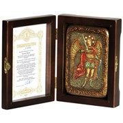 Михаил Архангел икона ручной работы под старину