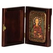 Пантелеймон Святой великомученик и целитель икона ручной работы под старину