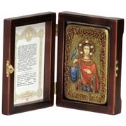 Трифон Святой мученик икона ручной работы под старину
