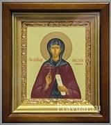 Анастасия Римляныня икона в киоте 16х19 см