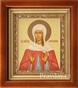 Антонина Святая мученица, икона в киоте 16х19 см