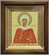Валерия Святая мученица, икона в киоте 16х19 см