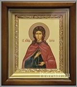 Иулия (Юлия) Святая мученица, икона в киоте 16х19 см