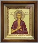 Мария Египетская, икона в киоте 16х19 см