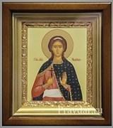 Надежда Святая мученица, икона в киоте 16х19 см