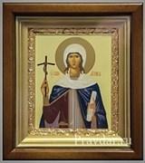 Нина Святая равноапостольная, икона в киоте 16х19 см
