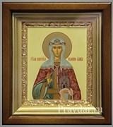 Ольга Святая равноапостольная, икона в киоте 16х19 см