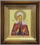 Софья Святая мученица, икона в киоте 16х19 см