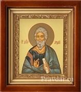 Андрей Первозванный, икона в киоте 16х19 см