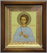 Артемий Веркольский, икона в киоте 16х19 см
