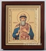 Владимир равноапостольный, икона в киоте 16х19 см