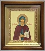 Даниил Московский, икона в киоте 16х19 см