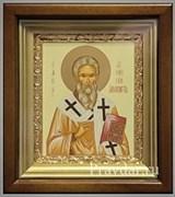 Дионисий Ареопагит, икона в киоте 16х19 см