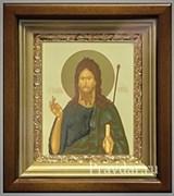 Иоанн Креститель, икона в киоте 16х19 см