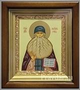 Максим Грек, икона в киоте 16х19 см