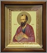 Павел Апостол, икона в киоте 16х19 см