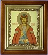 Роман Рязанский, икона в киоте 16х19 см