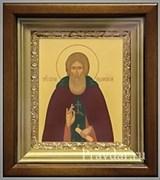 Сергий Радонежский, икона в киоте 16х19 см