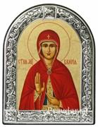Валерия Святая мученица, икона с серебряной рамкой