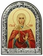 Галина Святая мученица, икона с серебряной рамкой
