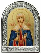 Лидия Святая мученица, икона с серебряной рамкой